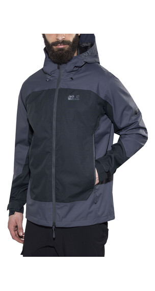 Jack Wolfskin North Slope Jas zwart